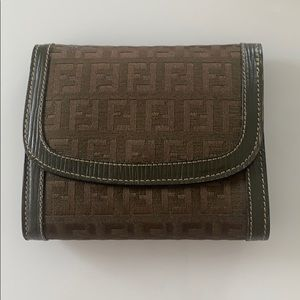 Fendi Vintage tri-fold wallet with coin purse